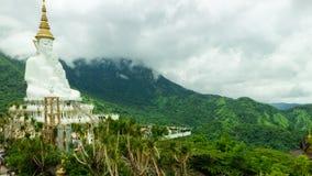 Bouddha blanc Image libre de droits