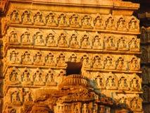 Bouddha - détails dans l'Inde Photo stock