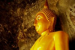Bouddha d'or Image stock