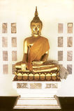 Bouddha d'or Photo stock