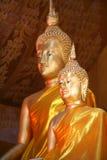 Bouddha d'or dans le symbole de Thailand photos libres de droits