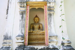 Bouddha d'or dans le symbole de Thailand image libre de droits