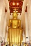 Bouddha d'or en Thaïlande Image stock