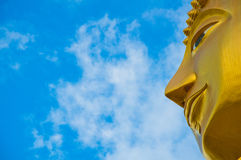 Bouddha d'or en Thaïlande Photographie stock