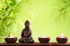 Bouddha dans la méditation Images libres de droits