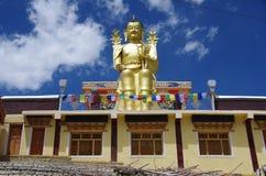 Bouddha dans le monastère de Likir dans Ladakh, Inde Photo stock
