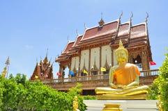 Bouddha de l'éclairage Image libre de droits