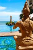 Bouddha de prière photos stock