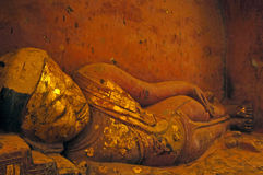 Bouddha de sommeil photographie stock