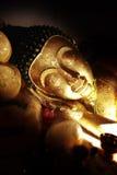 Bouddha de sommeil Photos stock