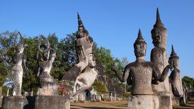 Bouddha de sommeil Photo stock