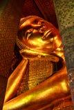 Bouddha de statue en Wat Pho Images libres de droits