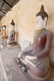 Bouddha de temple d'Aranyikawas chez Ratchaburi Thaïlande Image libre de droits