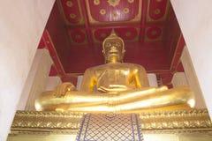 Bouddha de temple de Monkonbapit à Ayutthaya Photographie stock libre de droits