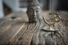 Bouddha e collins Fotografia Stock Libera da Diritti