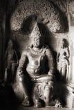 Bouddha en pierre Images libres de droits