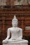 Bouddha en pierre Photographie stock