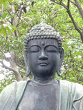 Bouddha en pierre, Asakusa, Tokyo Image stock