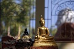 Bouddha endommagé Photo libre de droits