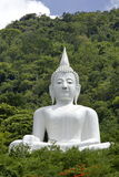 Bouddha et nature. Photographie stock