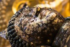 Bouddha fait face empilé Image libre de droits