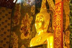 Bouddha font face à 01 Images libres de droits