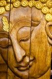 Bouddha font face Photo stock