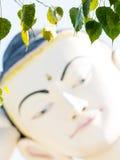 Bouddha font face Photo libre de droits