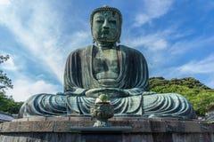 Bouddha grand de Kamakura photographie stock