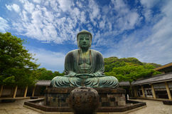 Bouddha grand de Kamakura Photo libre de droits