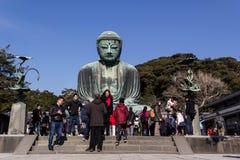 Bouddha grand de Kamakura Photo libre de droits
