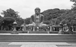 Bouddha grand de Kamakura, Japon Photos libres de droits