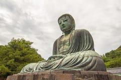 Bouddha grand de Kamakura, Japon Photo libre de droits