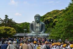 Bouddha grand de Kamakura, Japon Photographie stock