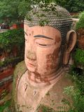 Bouddha grand de Leshan, Chine photographie stock libre de droits