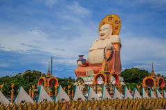 Bouddha heureux Photo stock