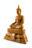 Bouddha a isolé la statue Images stock