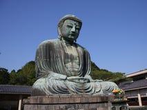 Bouddha kamakura grand Photographie stock