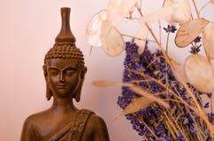 Bouddha méditant Photo stock
