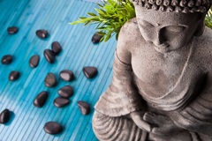 Bouddha méditant photographie stock