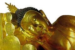 Bouddha menteur à Bangkok thailand Images stock