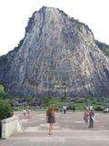 Bouddha mountian Image libre de droits