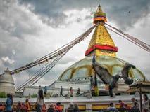 Bouddha nath Stupa Stock Photography