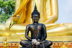 Bouddha noir Photo libre de droits
