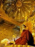 Bouddha, pagoda de Botataung, Birmanie (Myanmar) Photographie stock
