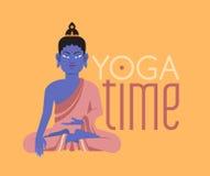 Bouddha plat Photographie stock libre de droits