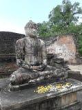 Bouddha's relief Stock Photos