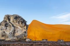 Bouddha reclinning géant Image stock