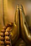Bouddha remet le plan rapproché Image libre de droits