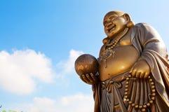 Bouddha riant Photographie stock libre de droits
